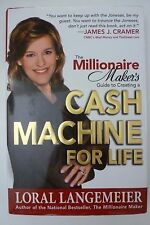 Loral Langemeier Cash Machine For Life Book Hard Cover Best Selling Author