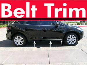 Mazda CX-7 CX7 CHROME SIDE BELT TRIM DOOR MOLDING 2007 2008 2009 2010 2011 2012
