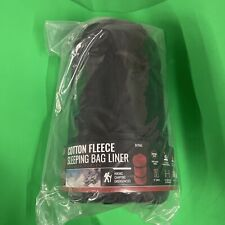 SE Outdoor UltraSoft Fleece Sleeping Bag Liner for Cold Weather Camping Warmth