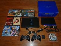 TESTED Sony PlayStation 2 Console, Network Adapter and Final Fantasy games! PS2