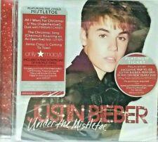 Under the Mistletoe by Justin Bieber Cd 2011 Island Label