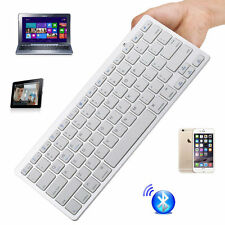 Mini Wireless Bluetooth 3.0 Keyboard for Apple iPad Air 4 3 Android PC Macbook