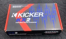 Kicker kx2 Active 2-Way Electronic Crossover