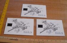 HALO Legends ship 2010 Booster Frame senitype cel numbered card SCARCE! X3