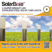 Solar Brite Deluxe 4 Super Bright LED Stainless Steel Solar Tube Lights