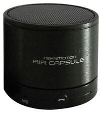 TekNmotion Air Capsule Bluetooth 3.0 Speaker w/ Microphone Black