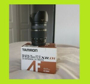 Tamron SP 28-75mm F/2.8 AF Di LD XR Lens - Canon Mount - HOYA FILTER INC.
