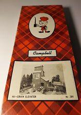 CAMPBELL SCALE MODELS GRAIN ELEVATOR  HO GAUGE #384 CRAFT WOOD KIT NIB