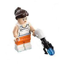 LEGO Dimensions - Chell w/ Portal Gun - Mini Figure / Mini Fig