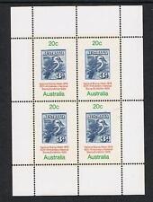 1978 National Stamp Week Mini Sheet MUH