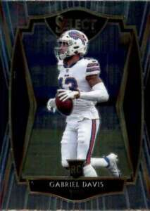 2020 Panini Select #182 GABRIEL DAVIS RC Premier Level Buffalo Bills