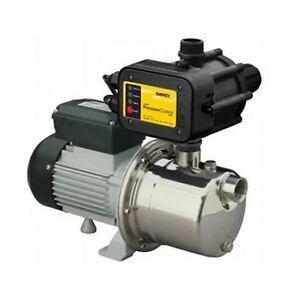 Davey SJ35-04PC Silver Series Rainwater Tank, Garden, Irrigation Pressure Pump