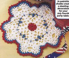 Crochet Pattern ~ Starburst Doily ~ Instructions