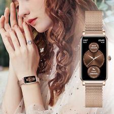 Lady Smart Watch Heart Rate Blood Pressure Oxygen Monitor  IP68 Waterproof Watch
