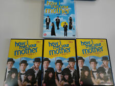 HOW I MET YOUR MOTHER TEMPORADA SEASON 5 COMPLETA 3 X DVD + EXTRAS &