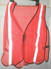 Welldoing Safety Work Reflective Vest Orange Medium