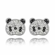 Crystal White Gold Plated Fashion Earrings