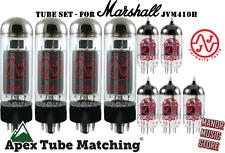 Tube Set Marshall JVM410H  JJ Electronics matched quad EL34 Vacuum VALVES