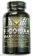 Absonutrix 500mg Fucoidan Pure Brown Seaweed Extract 120 Capsules Detox Pill