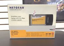 NetGear 54 Mbps Wireless PC Card (WG511VCNA)