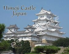 Japan - HIMEJI CASTLE - Travel Souvenir FLEXIBLE Fridge MAGNET