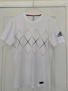 White Adidas Barricade Tennis Top
