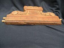 Antique EASTLAKE Furniture CURVED Topper Splash Walnut Loveseat Couch Dresser Be