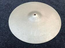 "Vintage Sabian 18"" Crash Drum Cymbal"