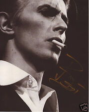 DAVID BOWIE AUTOGRAPH SIGNED PP PHOTO POSTER