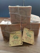 Pack of 3 Traditional Aleppo Soap Laurel & Olive Oil 15% - 220g (Handmade)