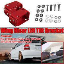 For Honda 96-00 Civic EK9 3DR Type R Spoiler CTR Wing Riser Lift Tilt Bracket
