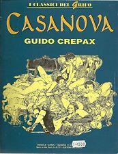 CASANOVA : di Guido CREPAX ed. Il GRIFO- Volume a fumetti
