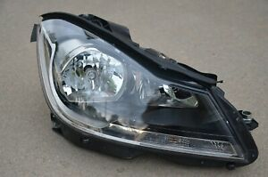 2012 2013 2014 MERCEDES-BENZ C-CLASS RIGHT RH SIDE HALOGEN HEADLIGHT OEM
