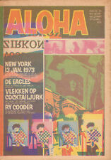 MAGAZINE ALOHA 1973 nr. 24 - EAGLES / RY COODER / WALLIE STEEVENSZ