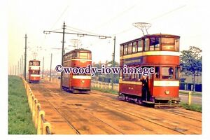 gw0078 - Leeds Trams at Middleton Terminus in 1958 - photograph 6x4