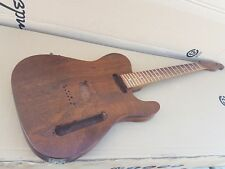 80's WARMOTH FANCY KOA TELLY - made in USA - FAT NECK - EXOTIC WOOD