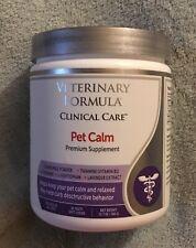 Pet Calm - Reduce Anxiety - Veterinary Formula - Premium Supplement -  Orig $50
