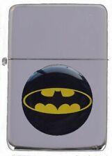 BATMAN PETROL FLIP LIGHTER WITH PRESENTATION TIN & SLEEVE