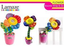 Lamaze Light & Sounds Wrap and Go Flower