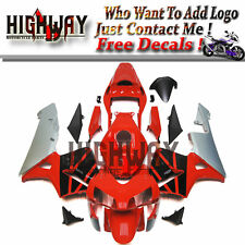 Injection Fairing For Honda CBR600RR F5 03 04 ABS Kit Bodywork Racing Red Silver