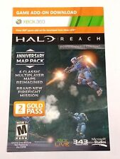 Halo Reach Anniversary Map Pack Bonus FOR XBOX 360