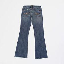 Meli Melo Womens 27w Long Leg 33L Slim Bootcut Blue Jeans
