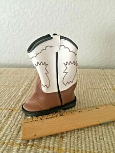 """Doll Cowgirl Boots 3.25"""""""