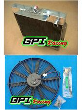 Aluminum Radiator & fan FORD Falcon XA XB XC FAIRLANE ZF ZG 6 cyl 72-77 AT/MT