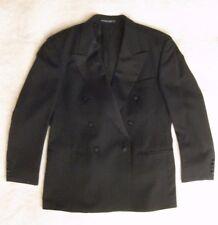 "Hugo Boss Double Breasted Super 100 Virgin Wool Tuxedo Men's 40"" Jacket 32"" Pant"