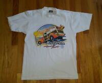 Vintage 1989 Snap-On Tools 1940 Ford Screen Stars T-shirt Large MADE IN USA