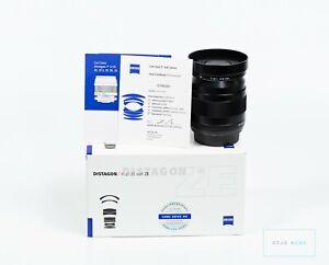 Zeiss Distagon 35 mm f/2 ZE T* Canon Objektiv Lens