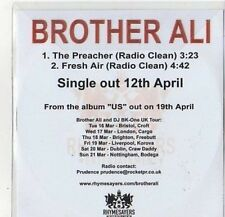 (CZ559) Brother Ali, The Preacher - 2010 DJ CD