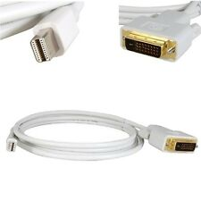 6FT Mini Display Port DP Male to DVI-D Male Dual-Link Cable Cord Adapter Macbook