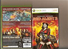 COMMAND AND CONQUER RED ALERT 3 XBOX 360 / X BOX 360